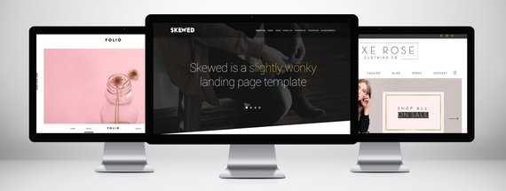 22 Beautiful Website Templates