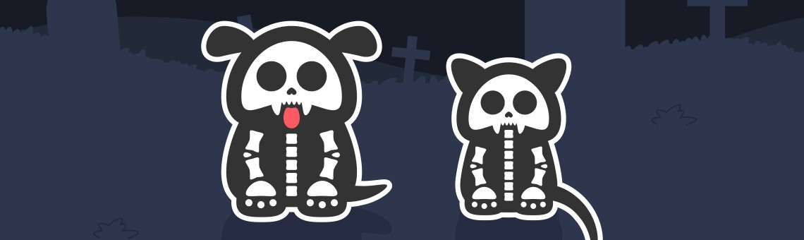 How to Create a Pet Cemetery Illustration for Halloween
