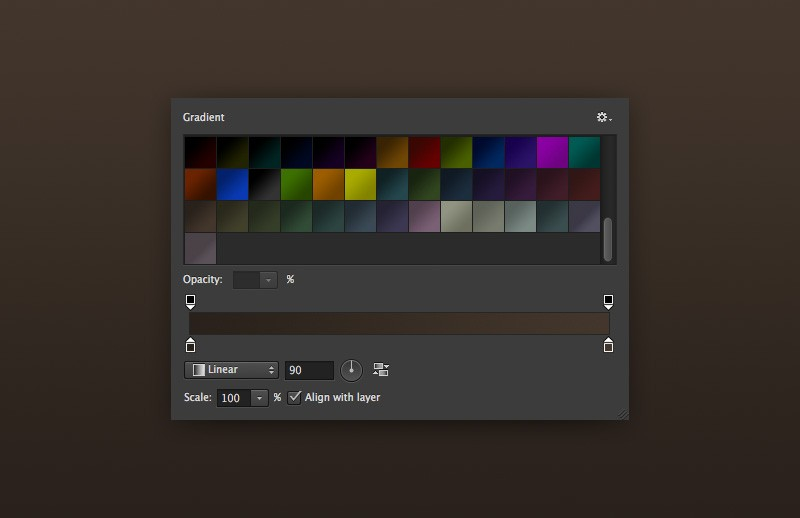 40 Dark Photoshop Gradients