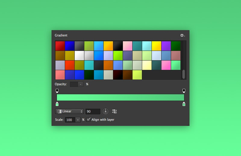 48 Smooth Photoshop Gradients