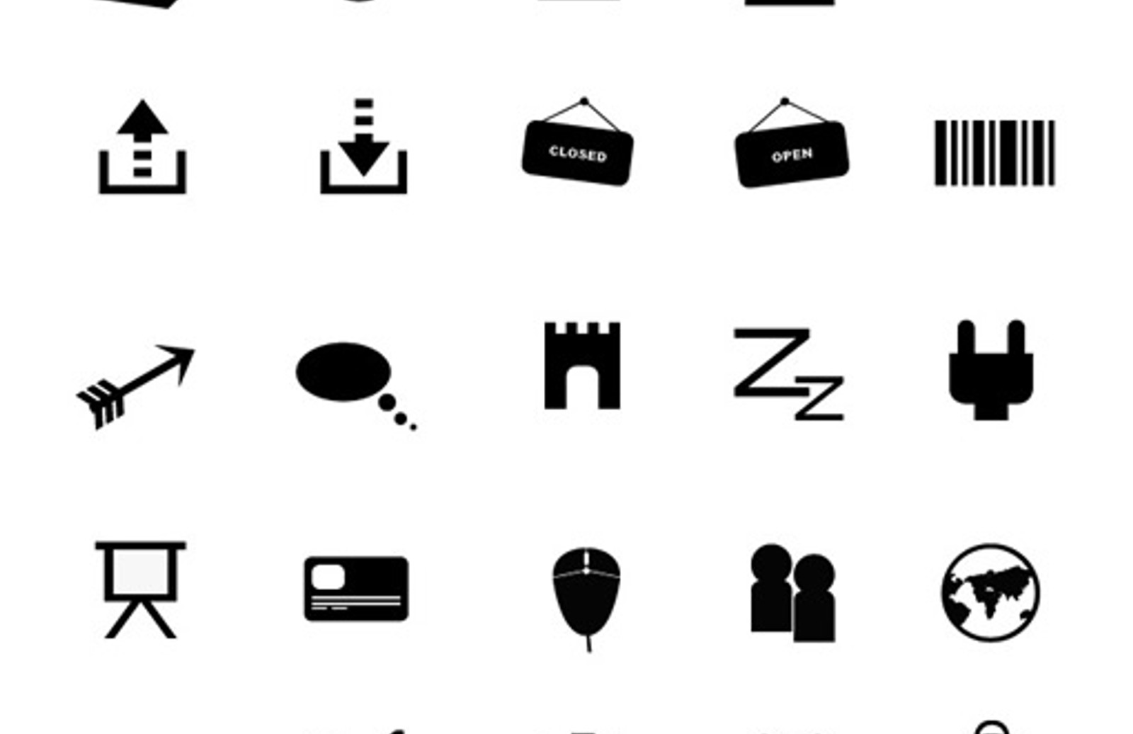 510 Flat Icons Part 5