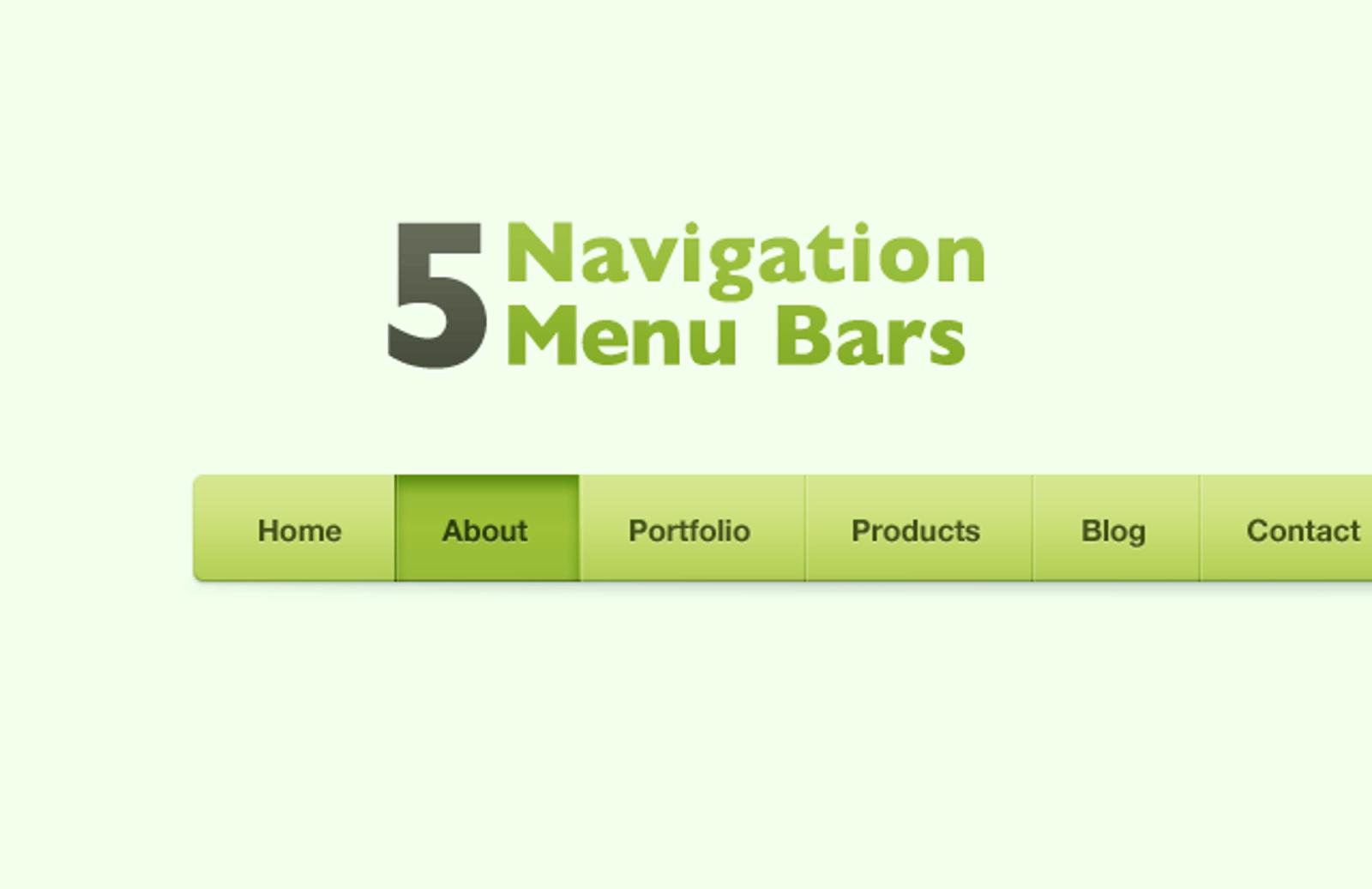 5  Navigation  Bars  Preview1