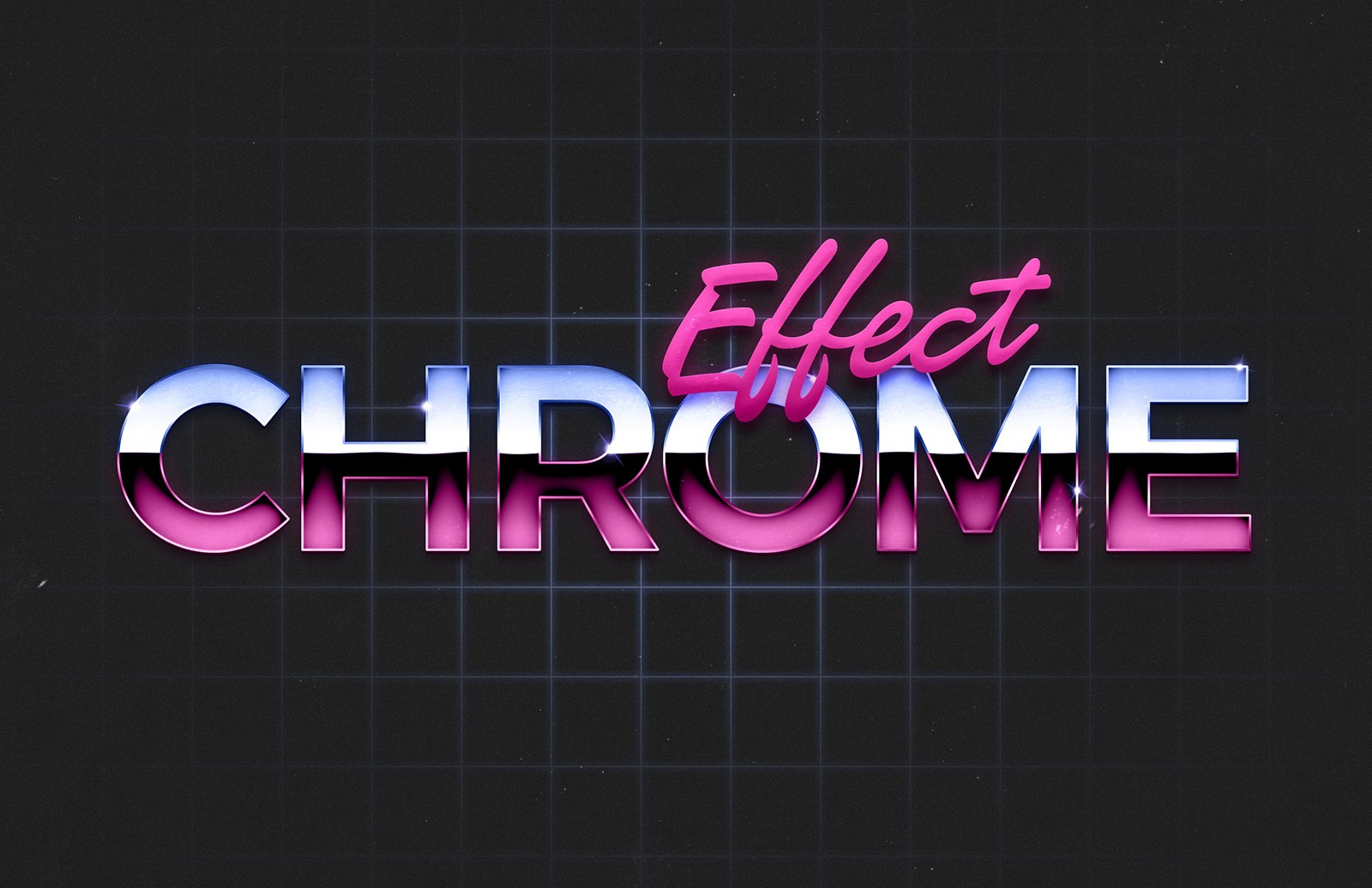 80S Chrome Text Effect 2 Preview 1