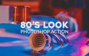 80's Look Photoshop Action