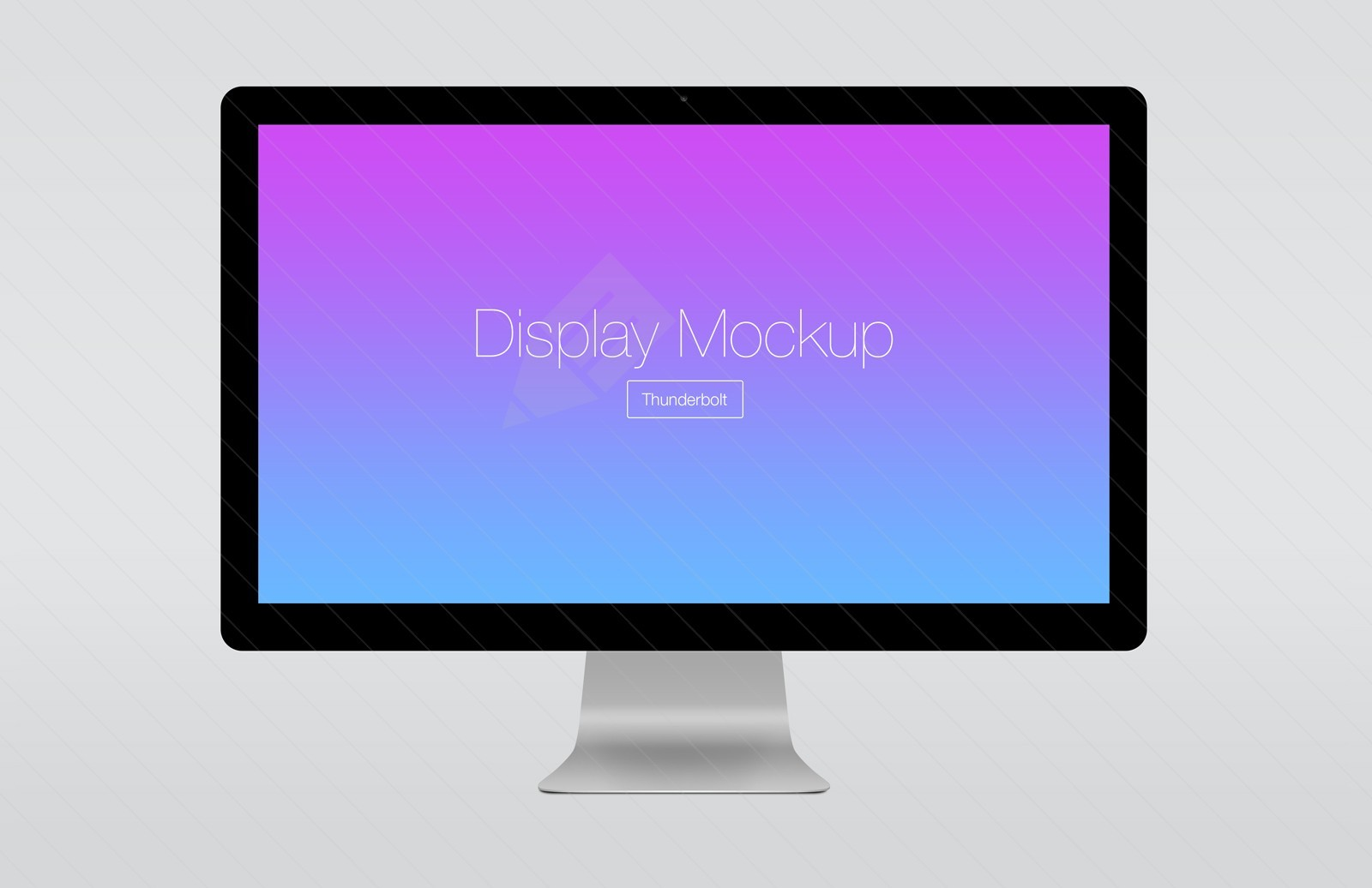Large 1600X1036  Angled  Thunderbolt  Display  Mockup  Preview 2