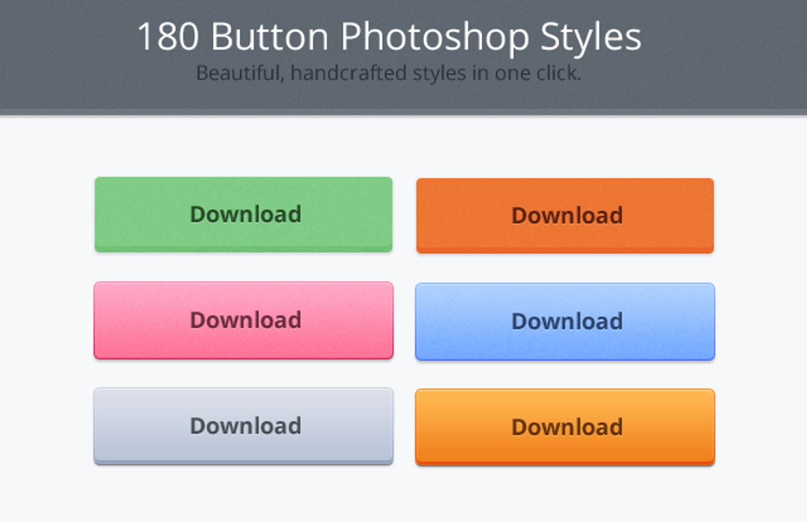 180  Photoshop  Button  Styles  Preview1