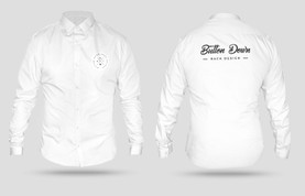 3D Button Down Shirt Mockup