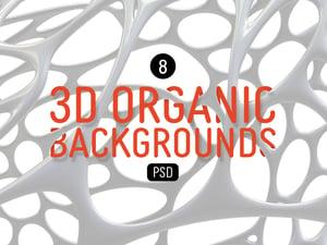 3D Organic Backgrounds 1