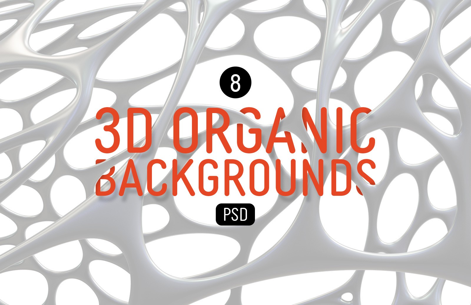 3 D Organic Backgrounds Preview 1
