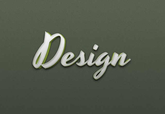 3D Text Effects Pack