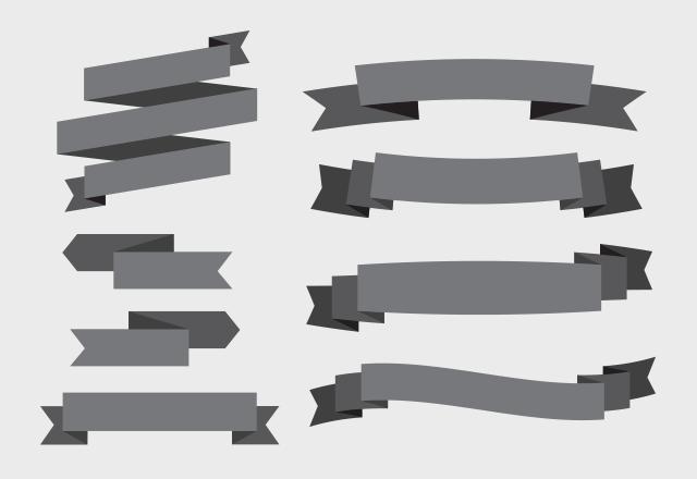 3D Vector Banners