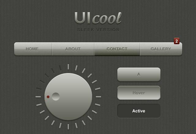 UI Cool: Sleek Web Interface Kit