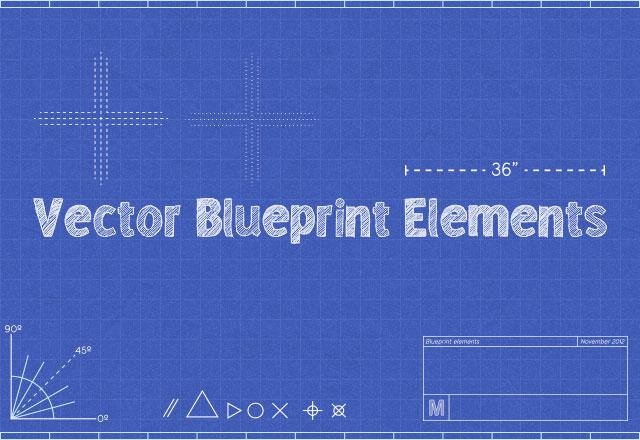 Vector Blueprint Elements
