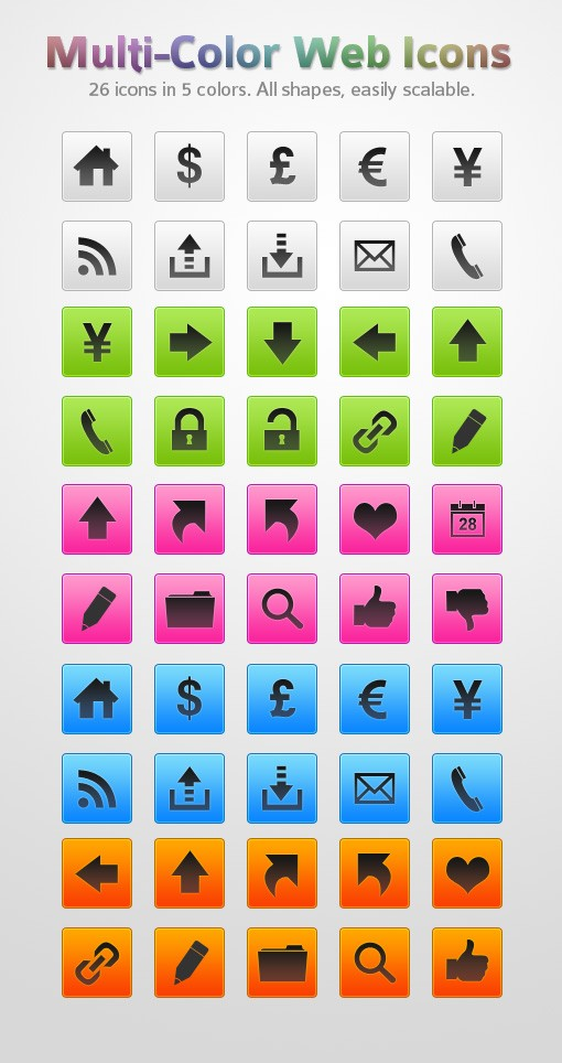 Web Icons Preview