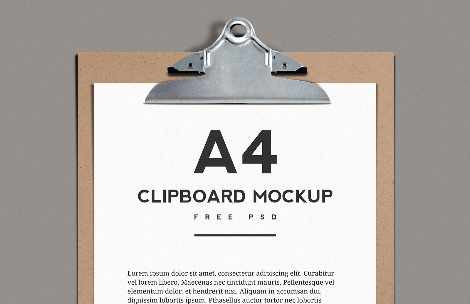 A4  Clipboard  Mockup  Preview 1