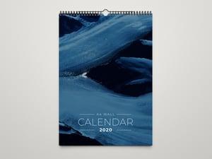 Free A4 Wall Calendar Template 2020 1