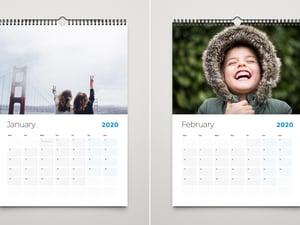 Free A4 Wall Calendar Template 2020 2