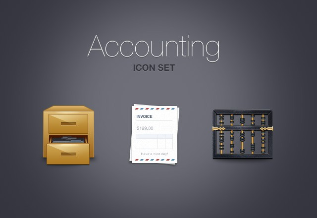Accounting  Icons  Preview1