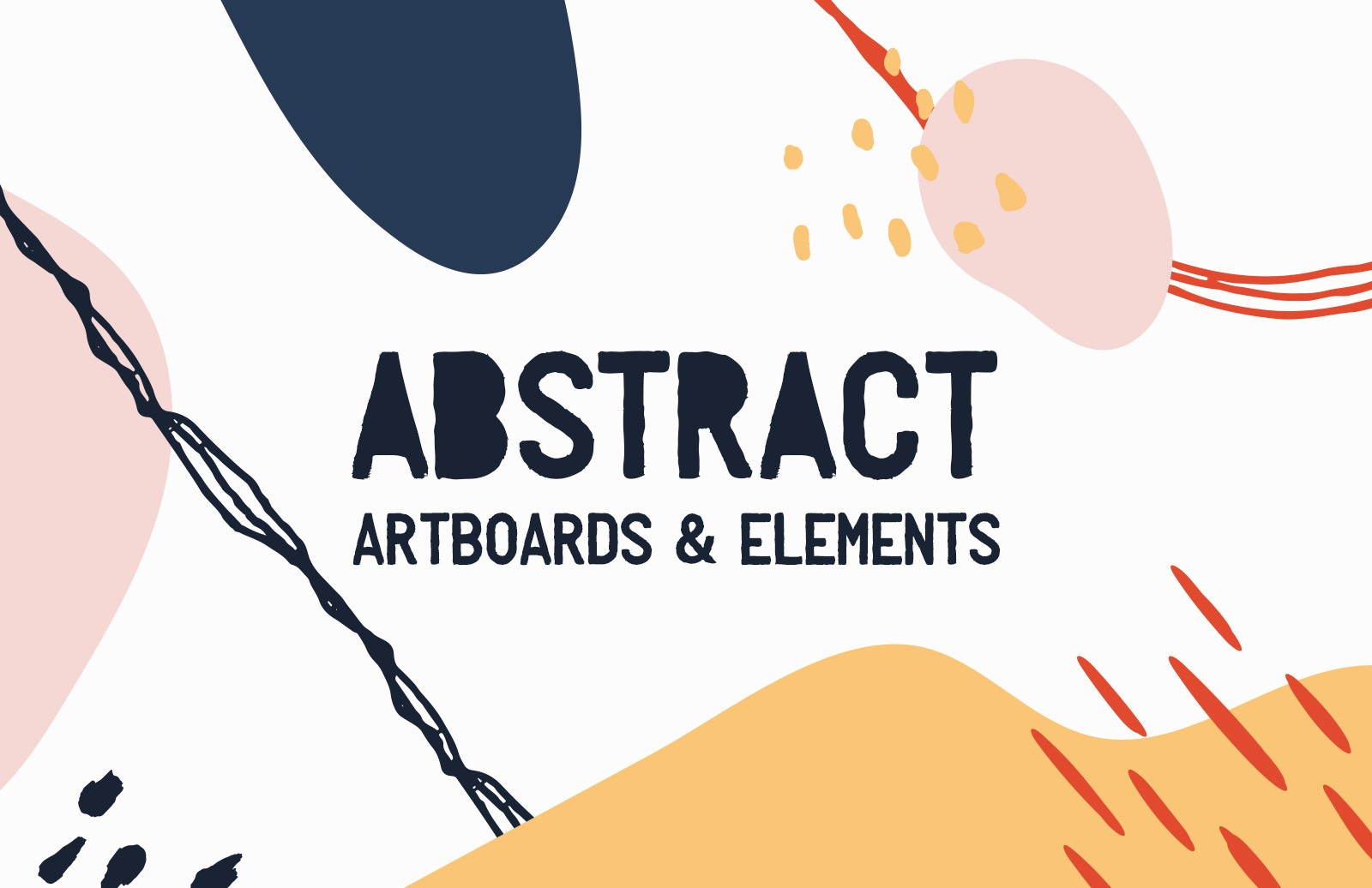Abstract Artboards And Elements Preview 1