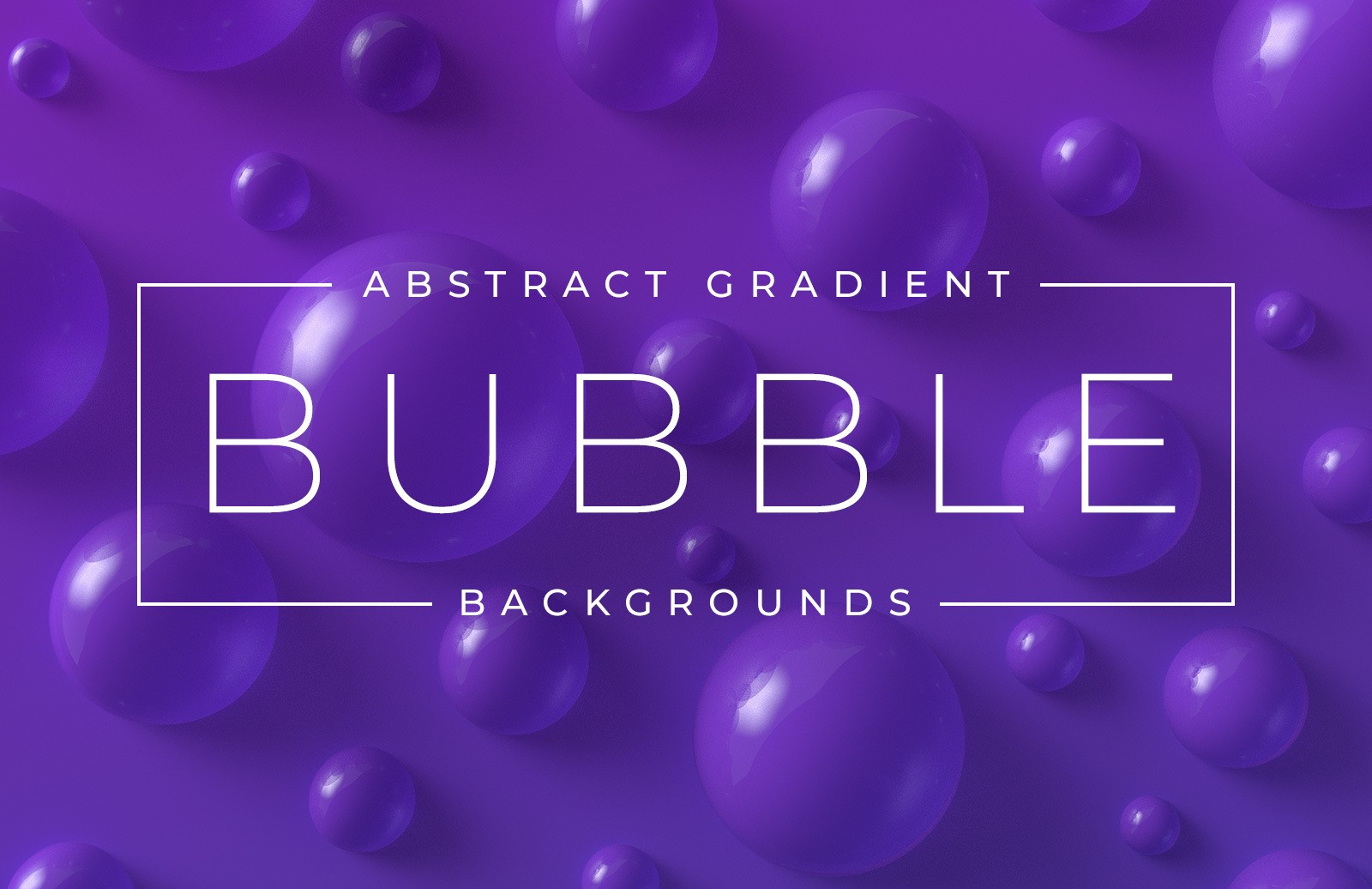 Abstract Bubble Gradient Backgrounds Preview 1
