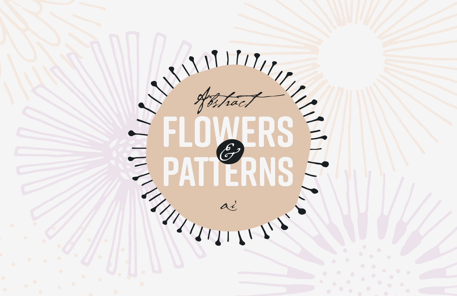 Abstract Flowers And Patterns Preview 1