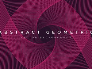 Abstract Geometric Background Vectors 1