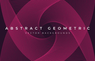 Abstract Geometric Background Vectors