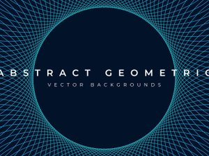 Abstract Geometric Background Vectors 2