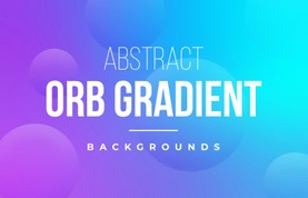 Abstract Orb Gradient Backgrounds