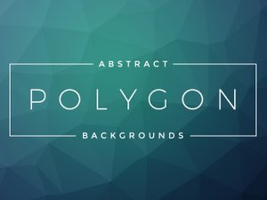 Free Abstract Polygon Backgrounds 1