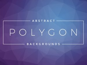 Free Abstract Polygon Backgrounds 2