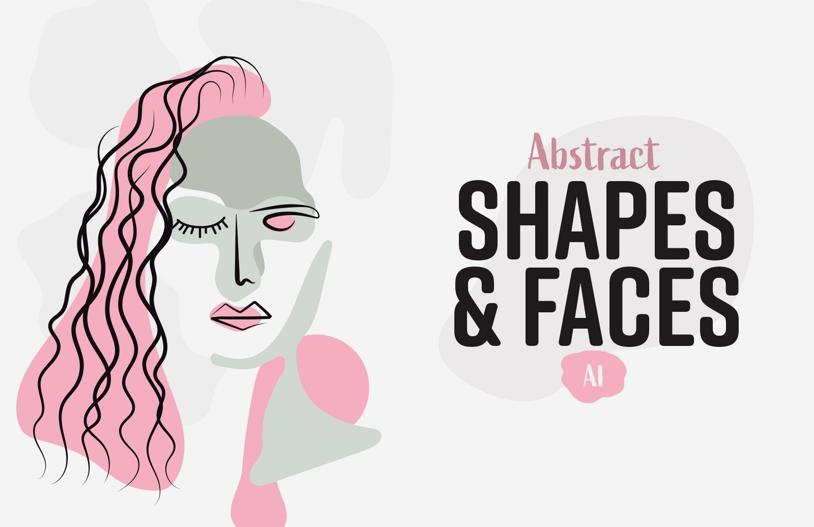 Abstract Shapes Faces Preview 1