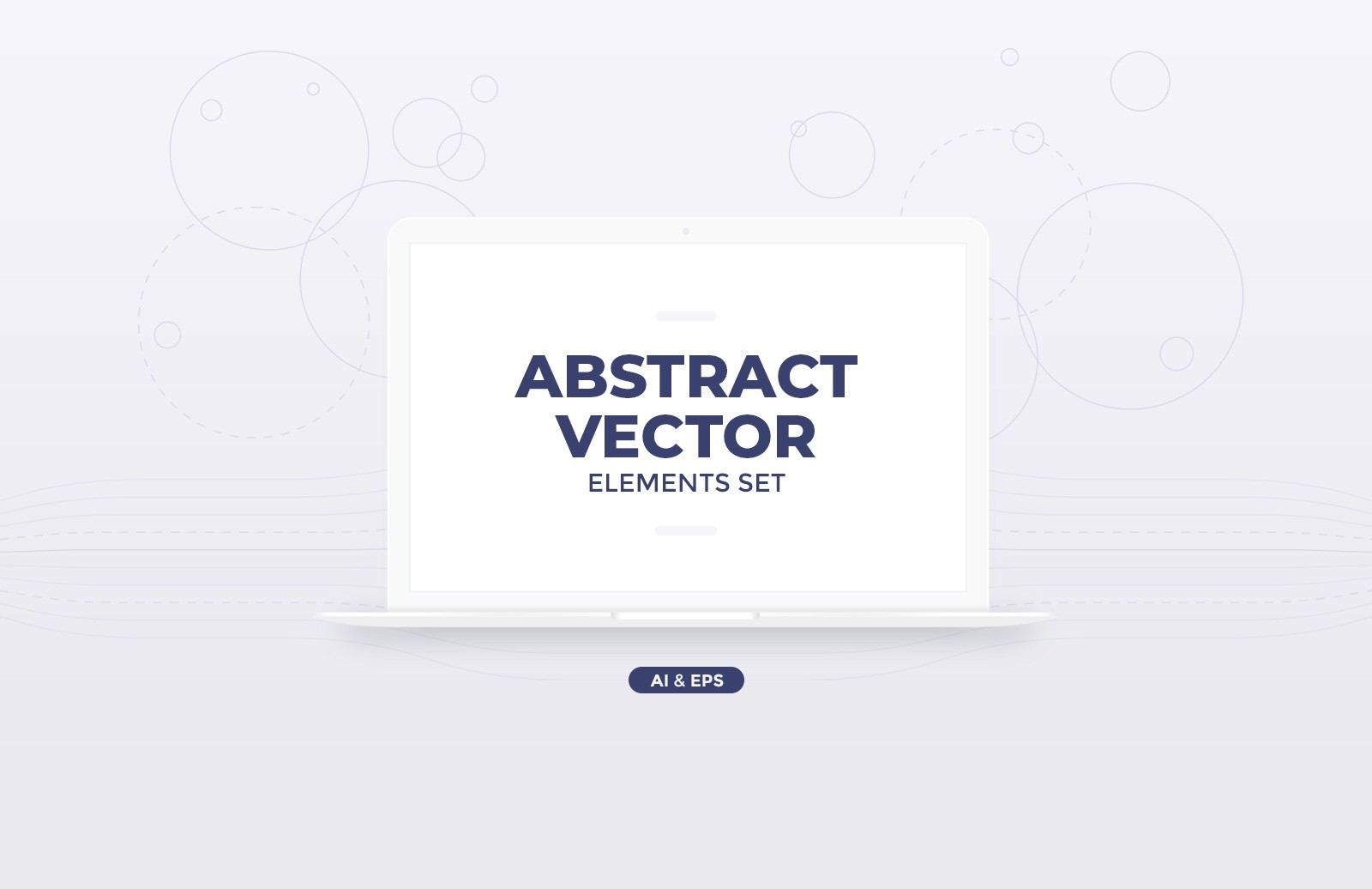 Abstract Vector Elements Set Preview 1