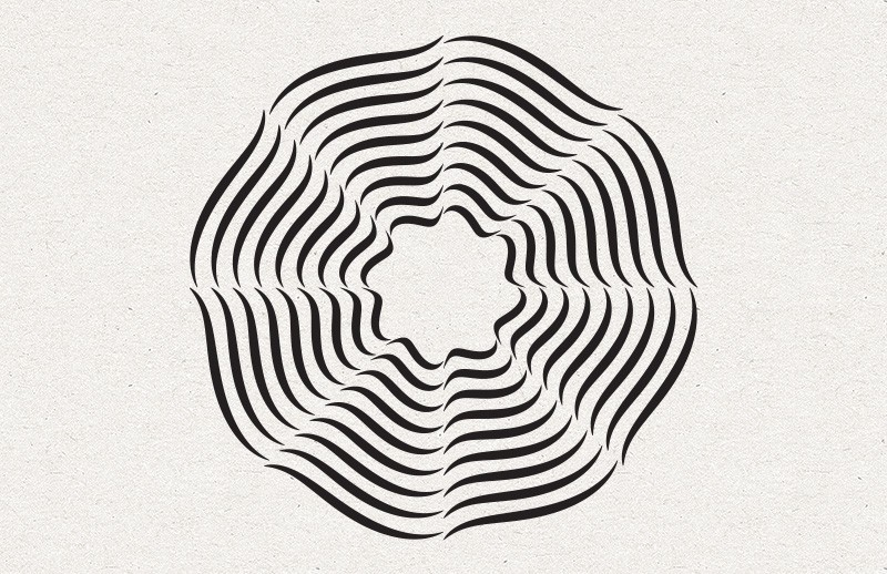 Abstract Vector Radials Collection 1
