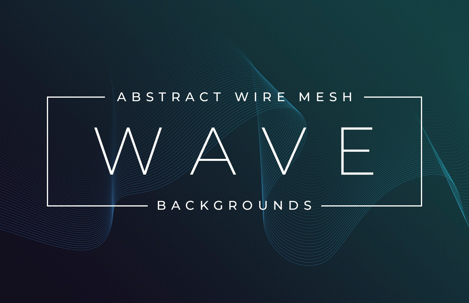 Abstract Wire Mesh Wave Backgrounds Preview 1