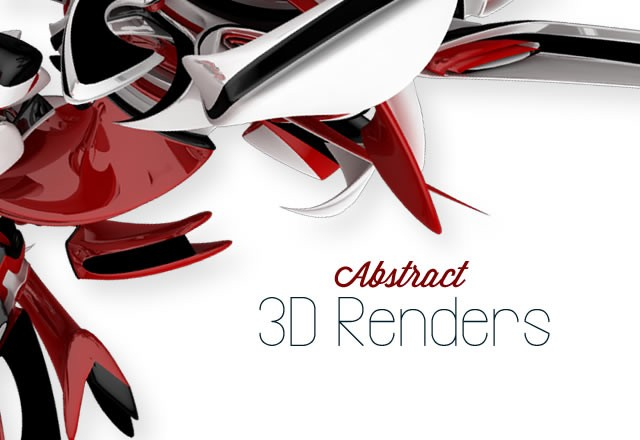 Abstract 3 D  Renders 1  Preview1