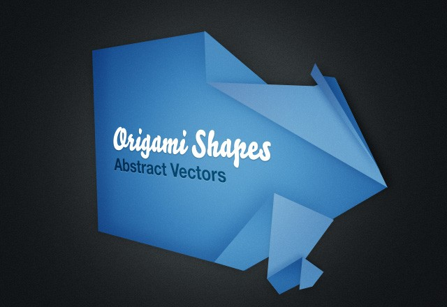 Abstract Origami Shapes