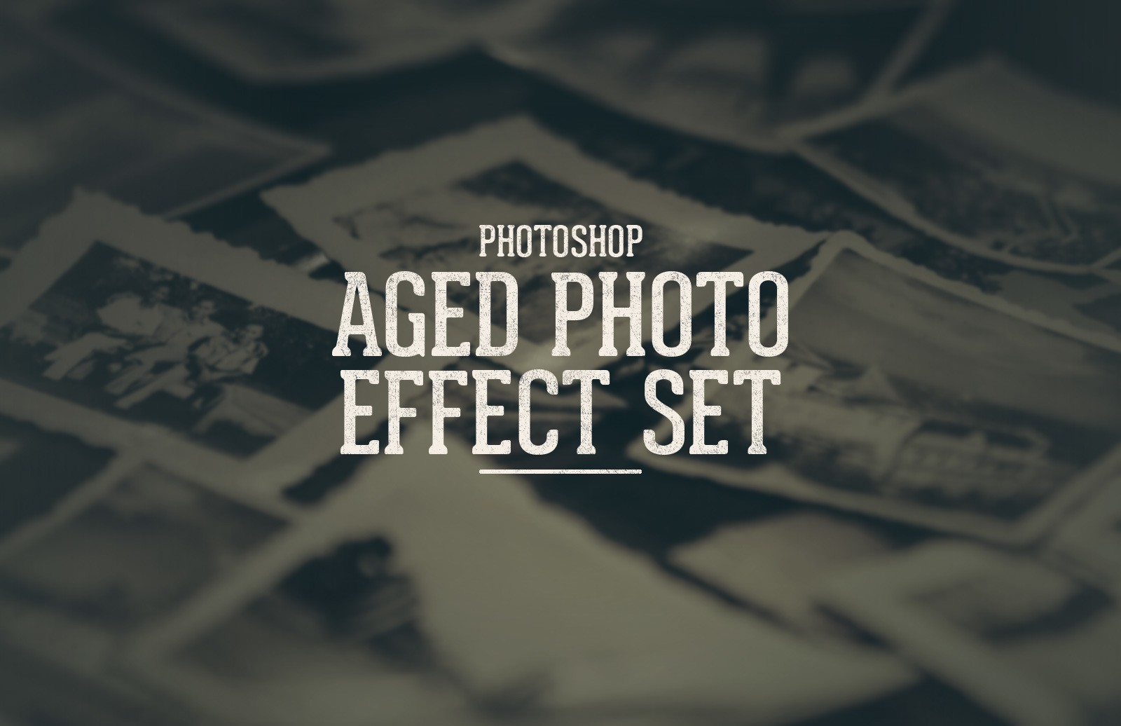 Aged Old Photo Effect Set Preview 1