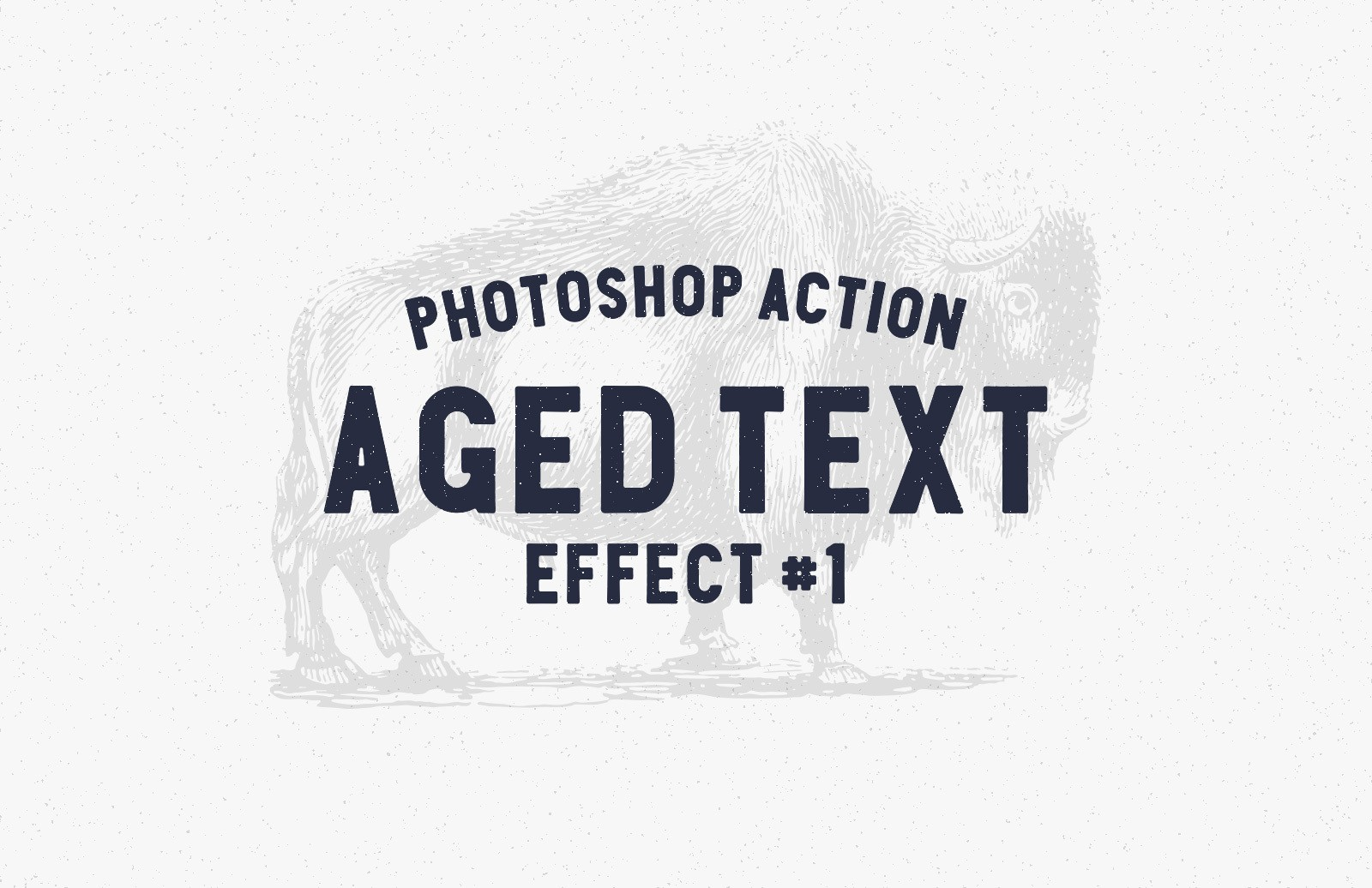 Aged Text Photoshop Action