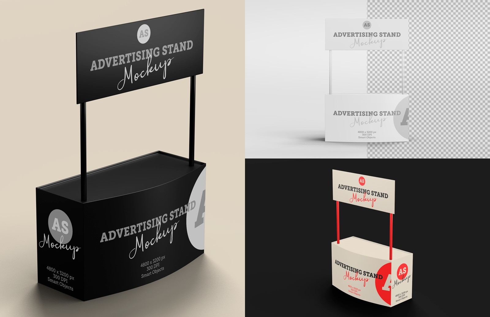Advertising Stand Mockup Preview 1