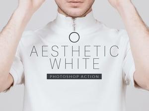 Aesthetic White Photoshop Action 1