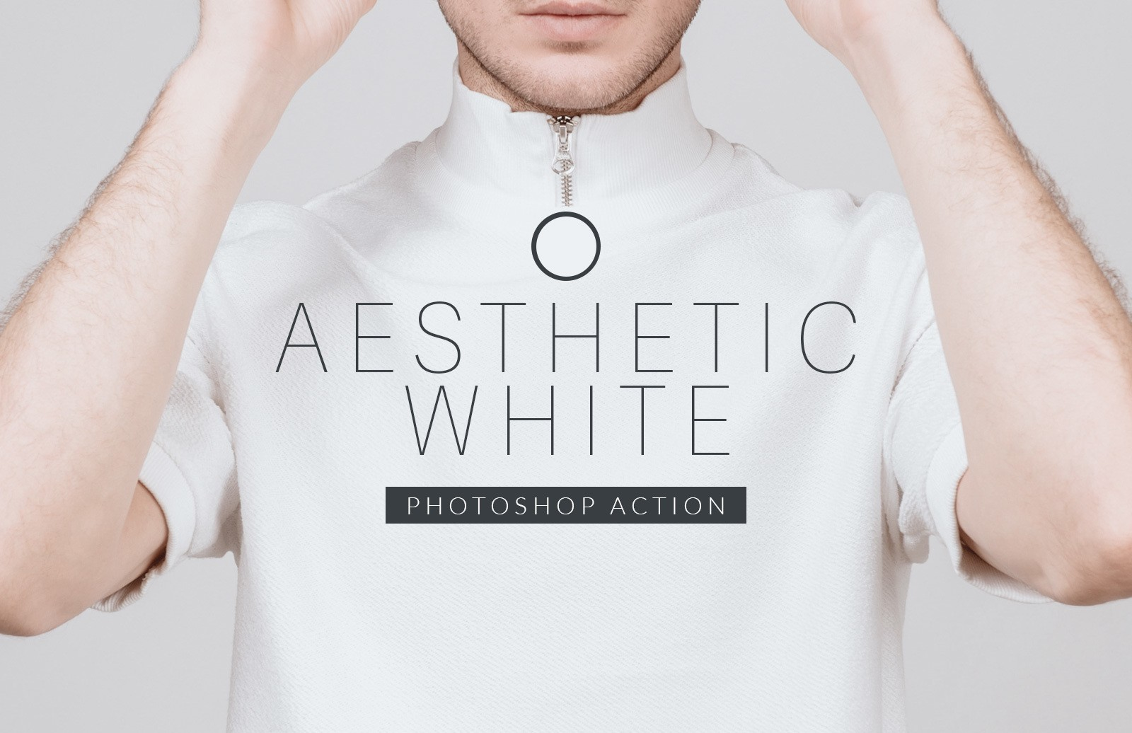 Aesthetic White Photoshop Action Preview 1