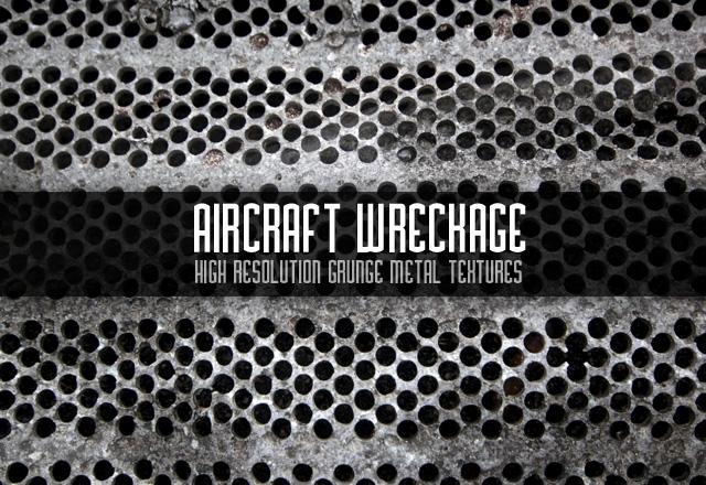 Aircraft Wreckage Metal Textures