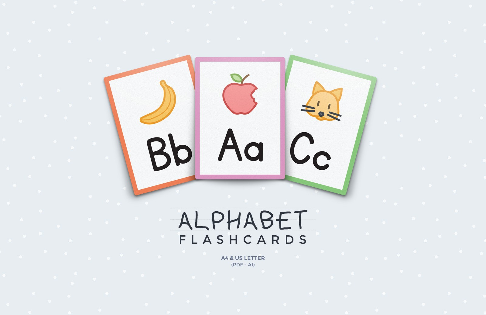 Alphabet Flashcards Preview 1