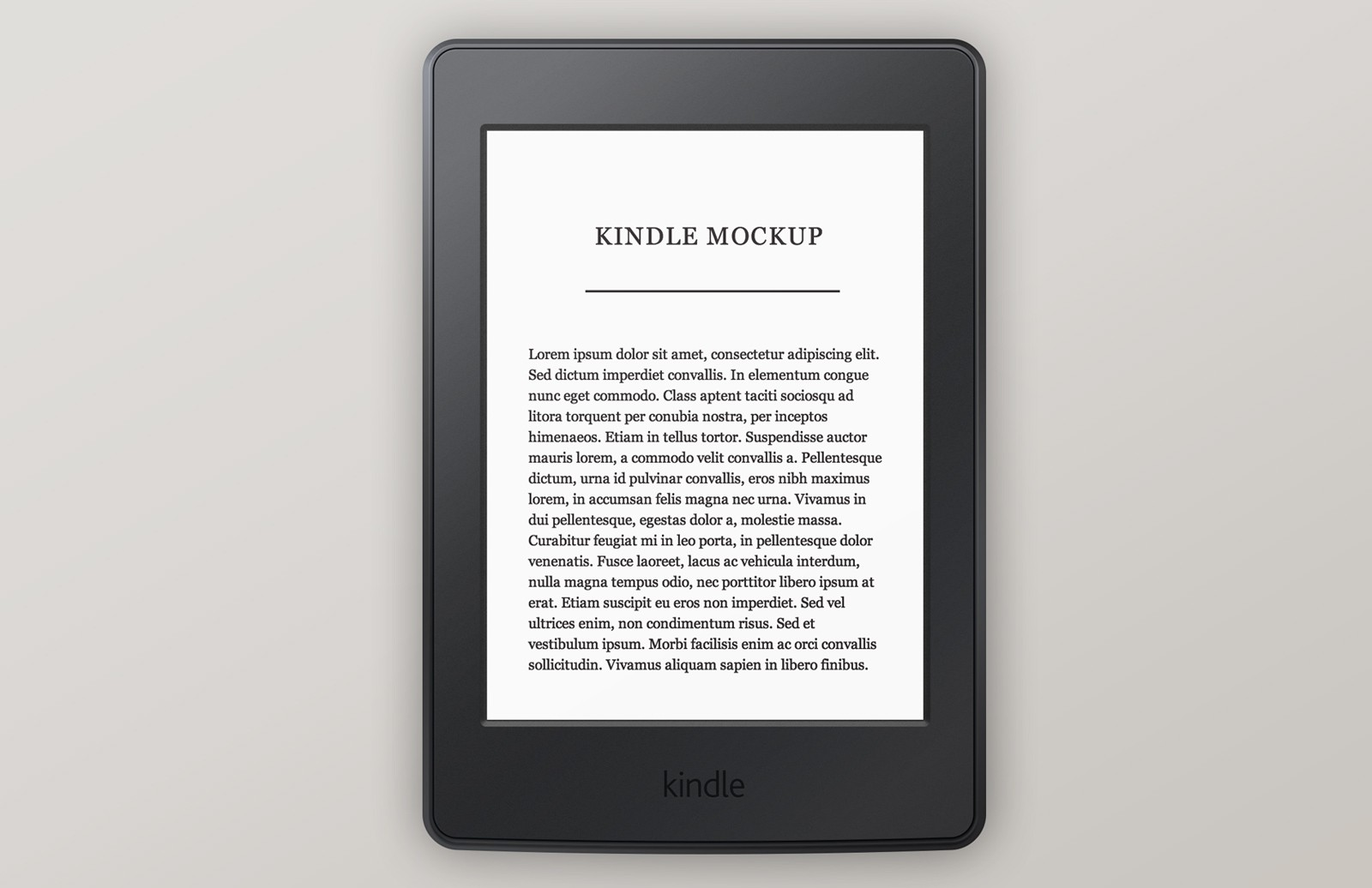 Amazon  Kindle  Paperwhite  Mockup  Preview 1A