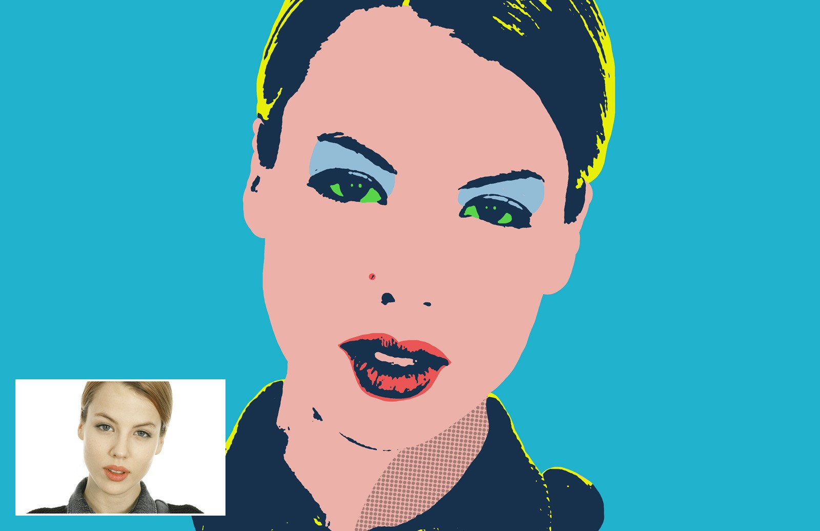Andy Warhol Photo Effect 2