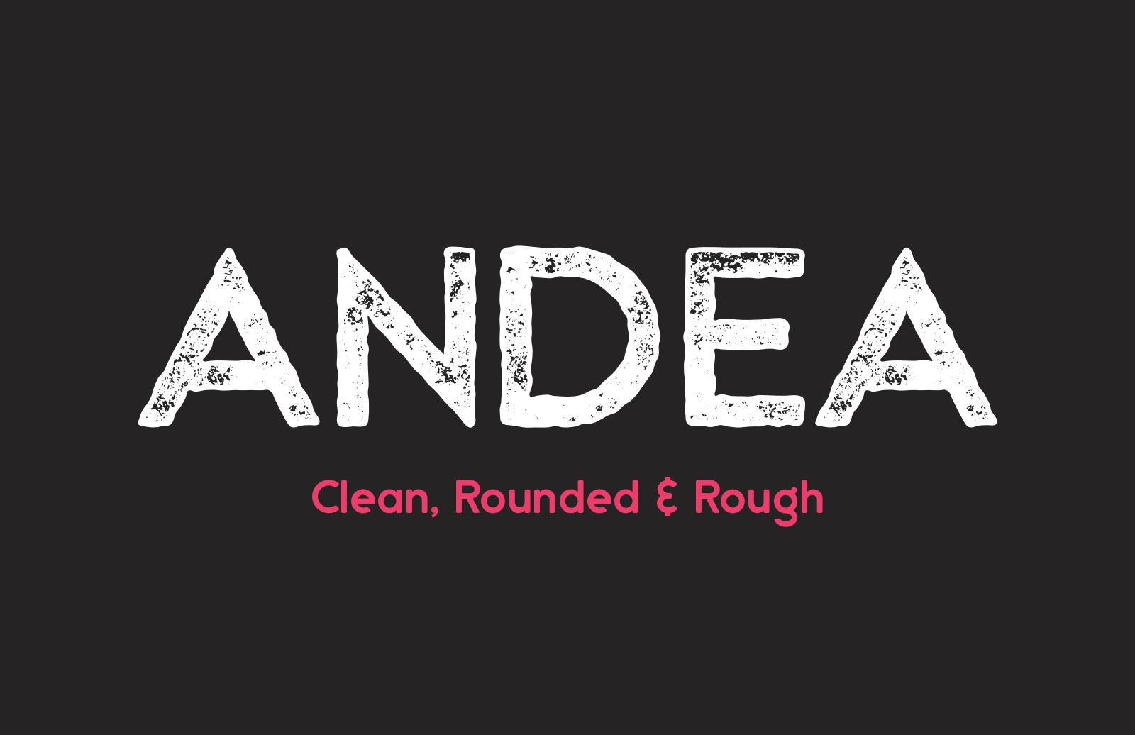 Andea  Geometric  Sans  Preview 1