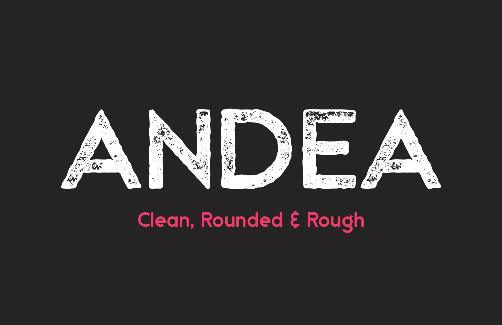 Andea  Geometric  Sans  Preview 1