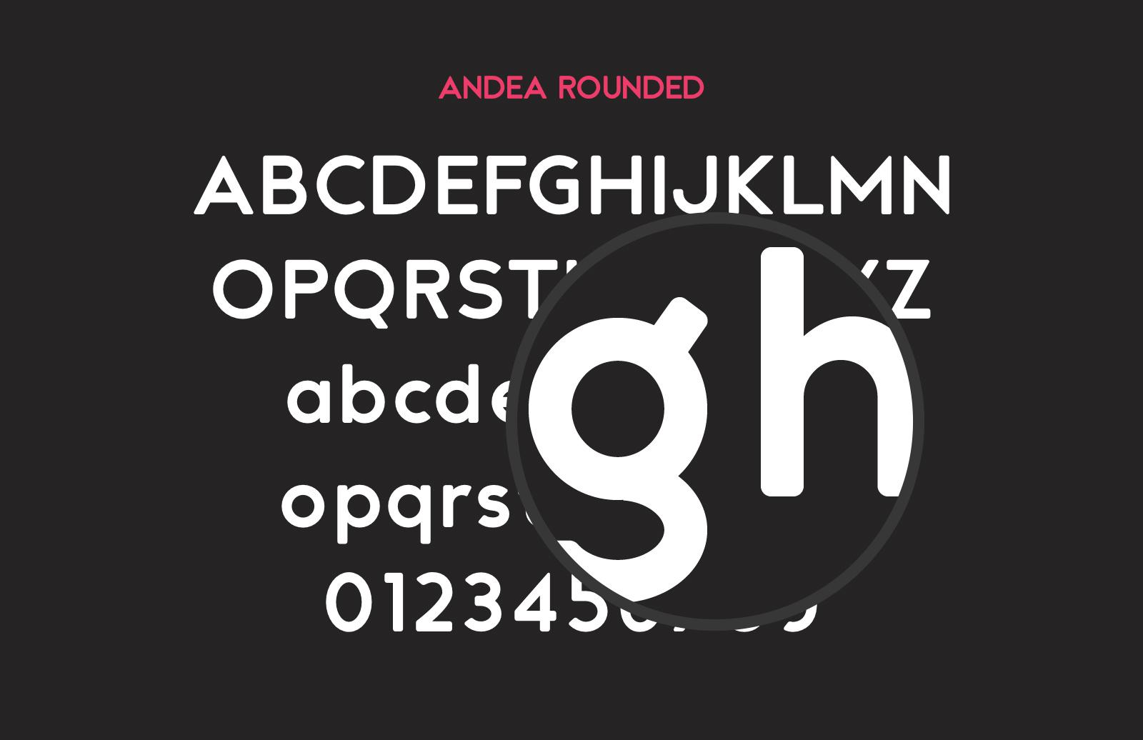 Andea  Geometric  Sans  Preview 3