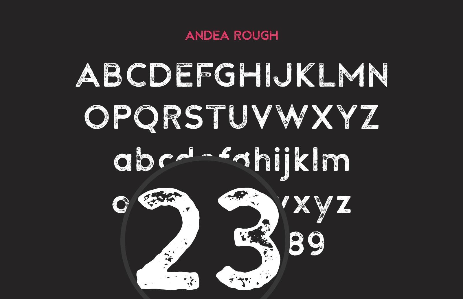 Andea  Geometric  Sans  Preview 4